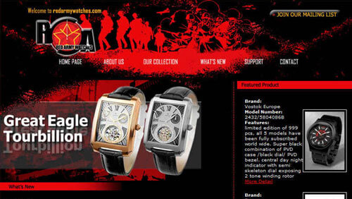 Red Army Watches Pte Ltd
