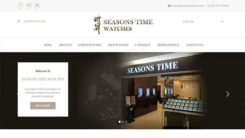 Seasons Time Watches Pte Ltd