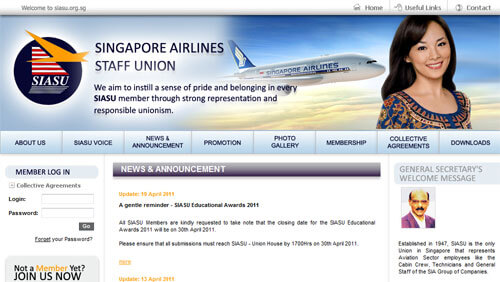Singapore Airlines Staff Union